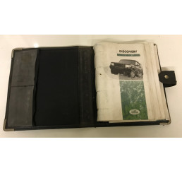 Discovery 1 300tdi/V8 Handbook And Wallet