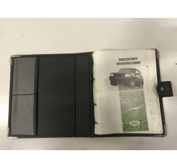 Discovery 1 Manual And Leather Folder