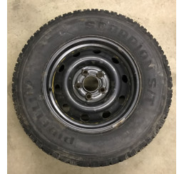 Discovery 2/Range Rover P38 Steel Spare Wheel And Tyre 235/70 R16