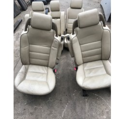 Discovery 2 Cream Leather Seats