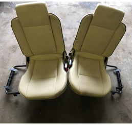 Discovery 2 Td5/V8 Cream Leather Boot Seats