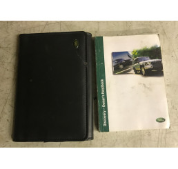 Discovery 2 Td5/V8 Facelift Handbook And Wallet