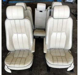 L322 Cream Electric Leather Seats 02-06