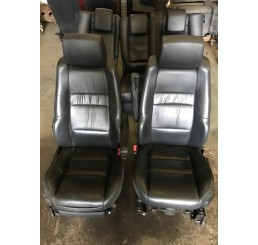 Range Rover Sport Black Leather Seats Interior