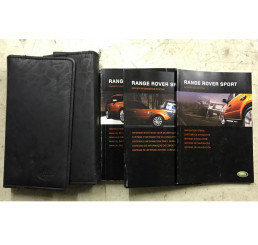 Range Rover Sport L320 Manual And Handbook Cover
