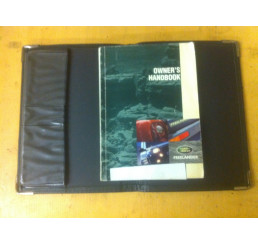 Freelander 1 Handbook and Cover